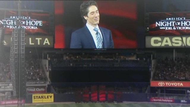Joel Osteen at Yankee Stadium Night of Hope