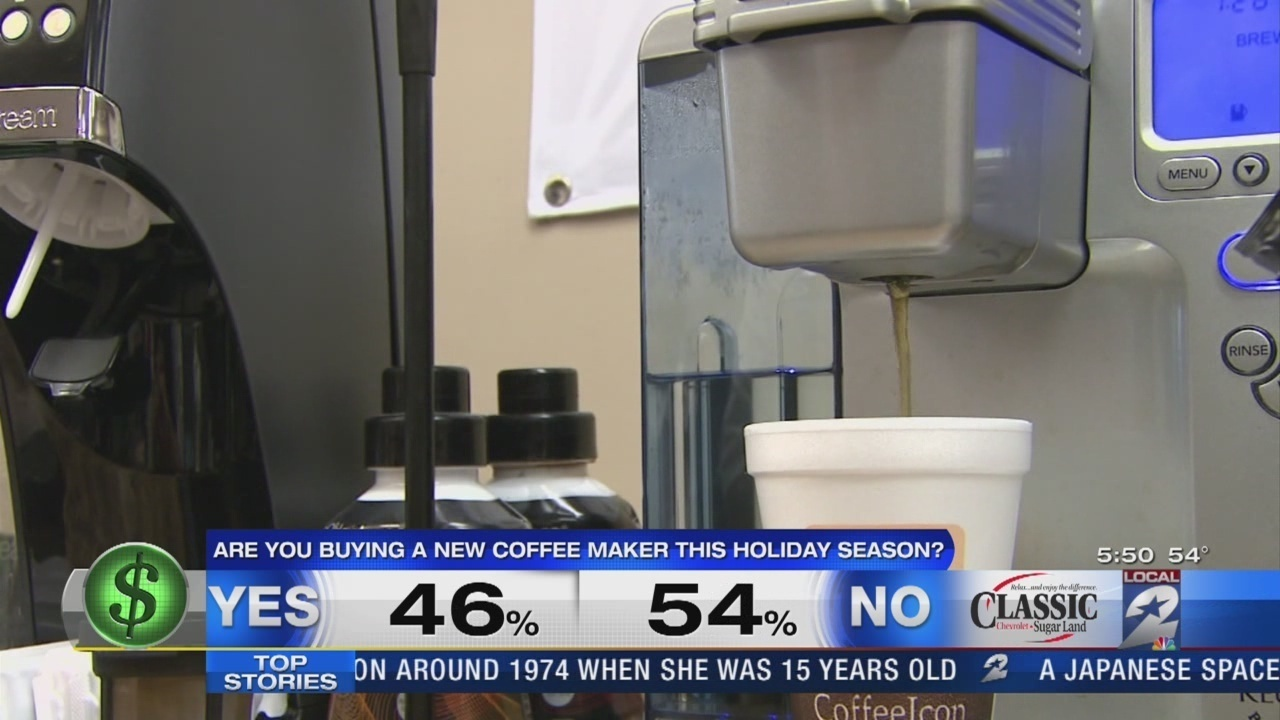 Coffee choices limited with new Keurig coffee maker