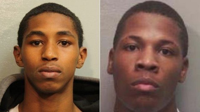 Carlton Berry, Trey Foster Mug Shots