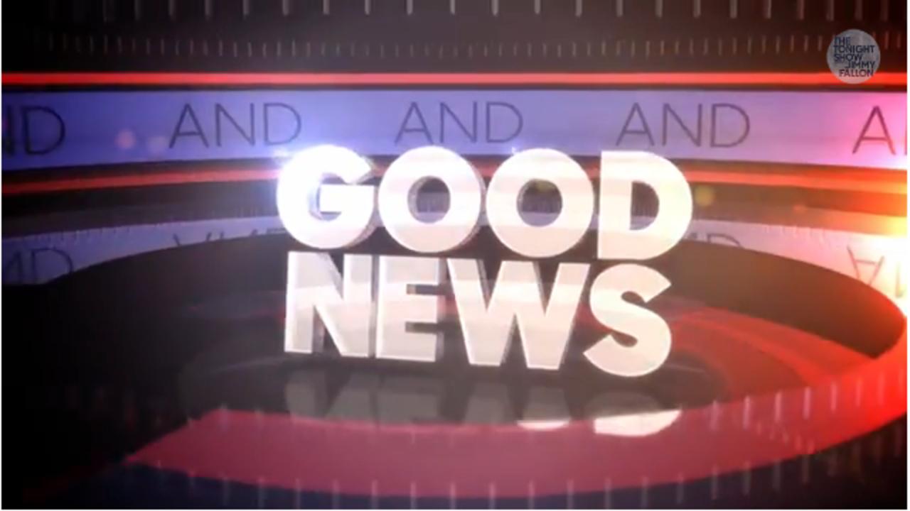 Jimmy Fallon has 'Good News and Good News'