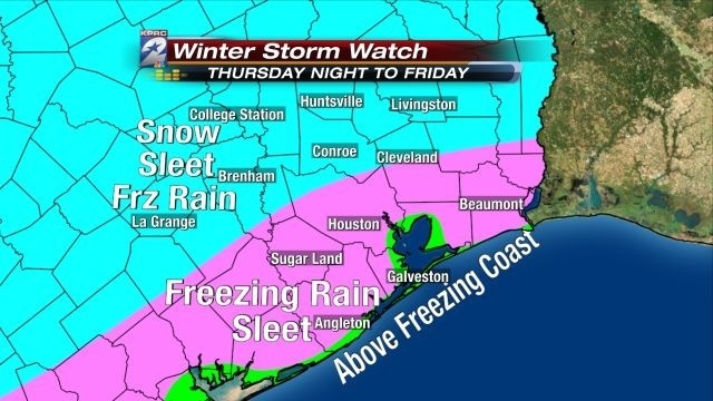 Freezing Precip Map 01-22-14