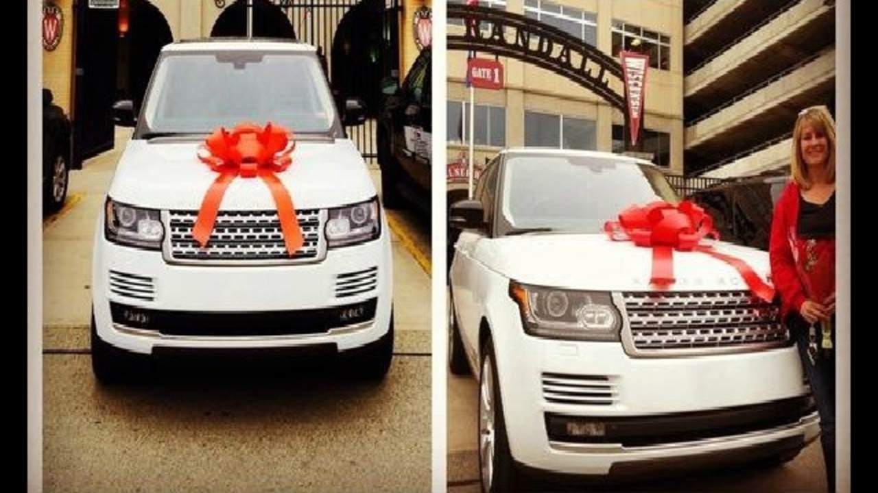 photo of J.J. Watt Range Rover - car
