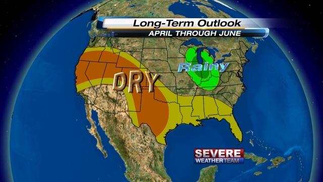Long Range Precip Forecast