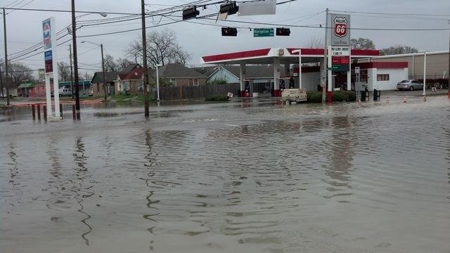 Navigation flooding