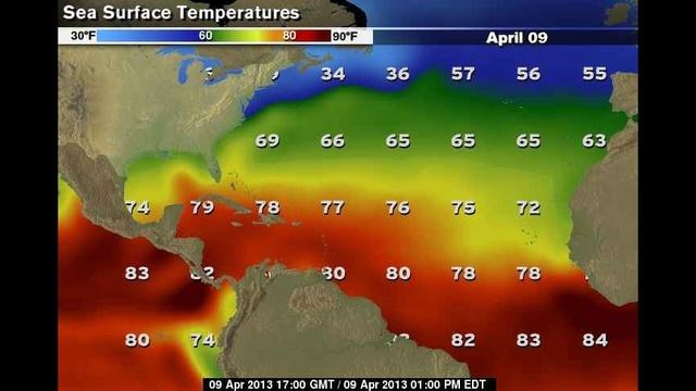 Sea Surface Temperatures 04_10_13