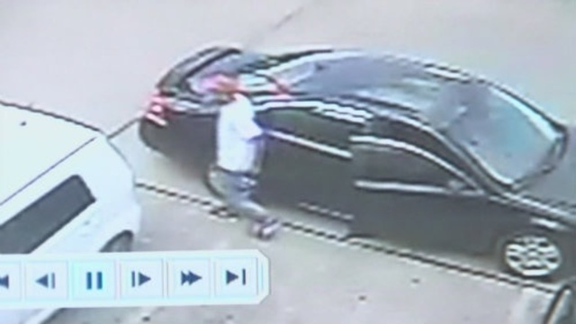 Suspect in Chevy Malibu