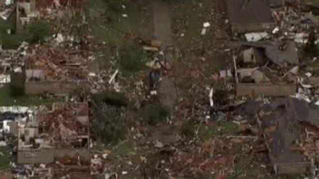 DFW Tornado Damage 13