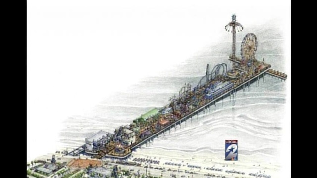 Galveston Pleasure Pier Artist Rendering