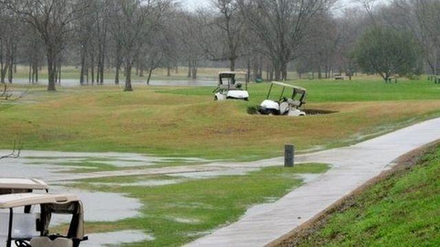 Golf Cart Vandal Photo