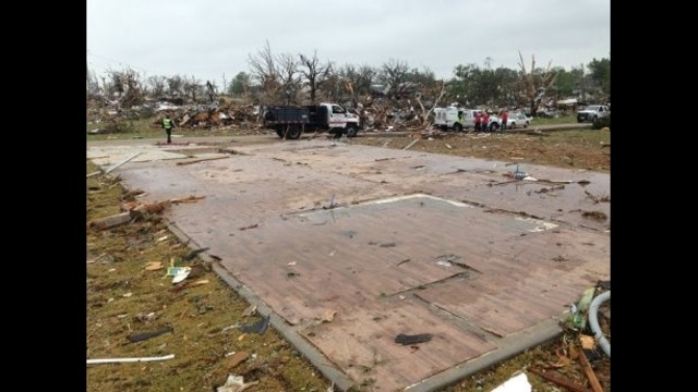 Granbury Tornado Damage