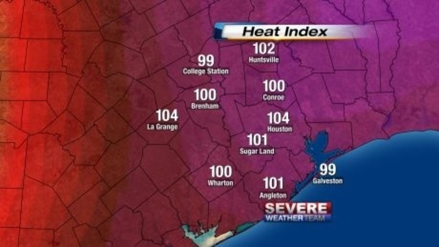 Heat Index June 14 2013