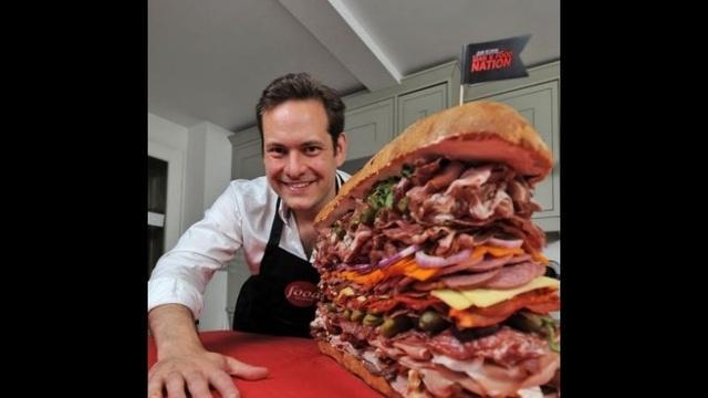 Chef Tristan Welch's 4 hour creation.