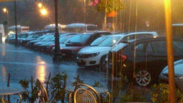 Rain in Rome