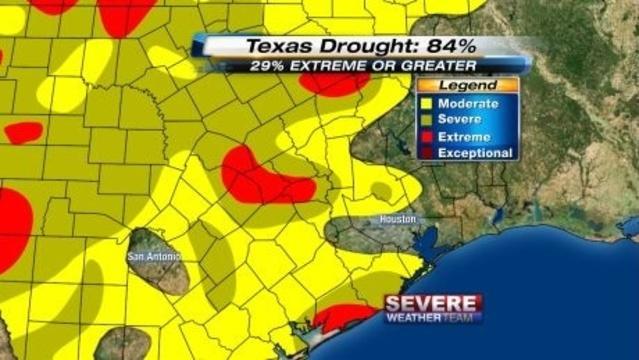 SE Texas Drought 18 June