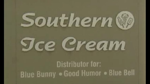 Southern Ice Cream sign