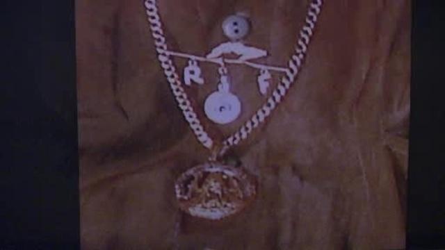 stolen medallion