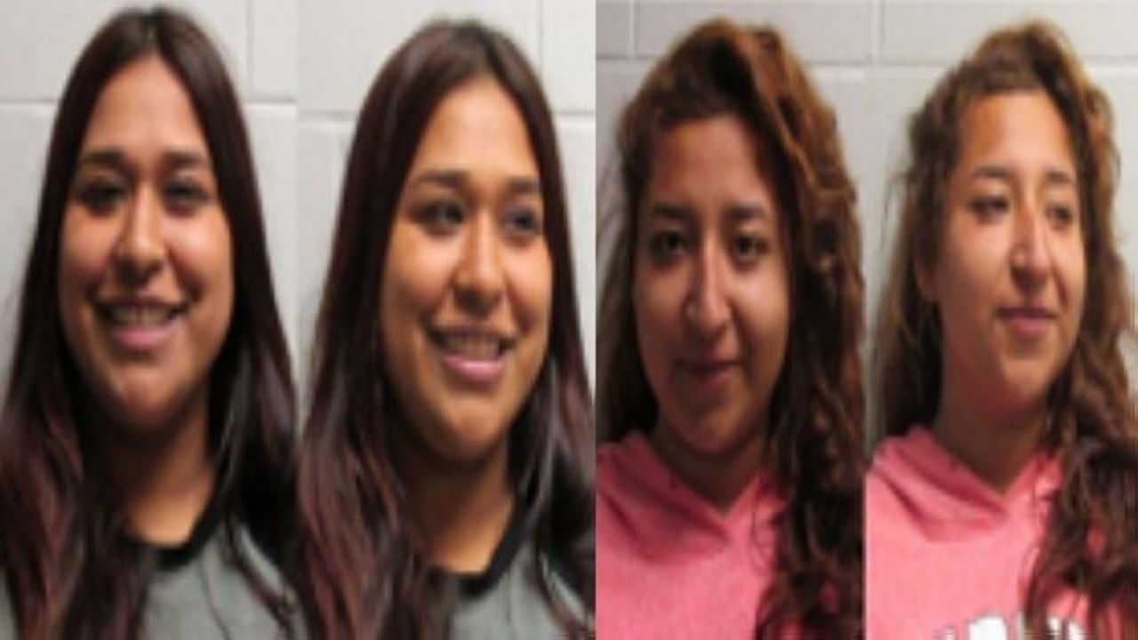 Women accused of smuggling 76 pounds of pot smile in mugshots