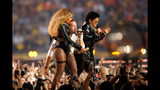 Super Bowl 50: Beyonce, Bruno Mars and Coldplay perform at halftime