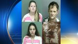 Three arrested after meth bust in Montgomery County