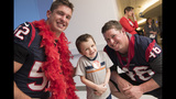 PHOTOS: Texans visit Texas Children