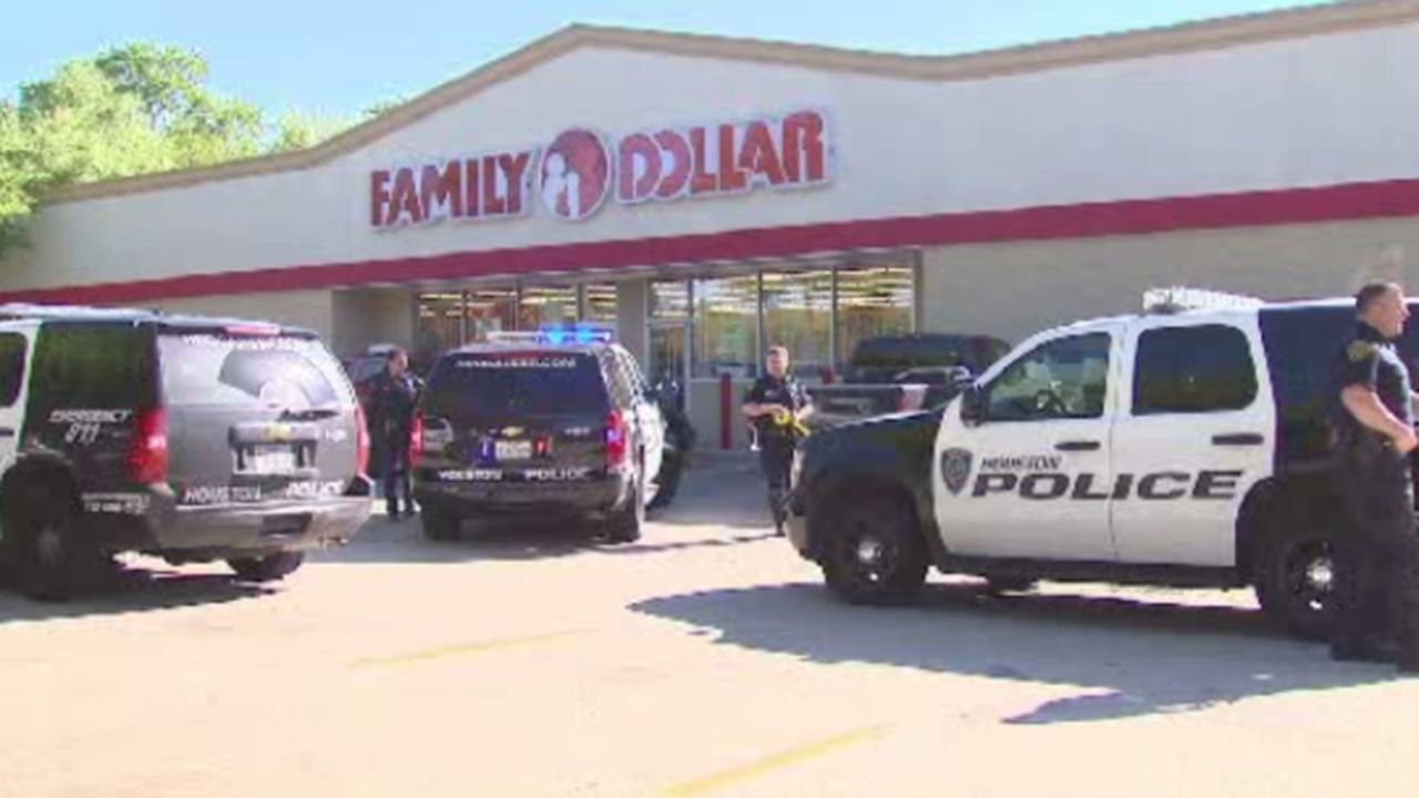 Clerk shoots robber at north houston family dollar for Laporte county clerk s office