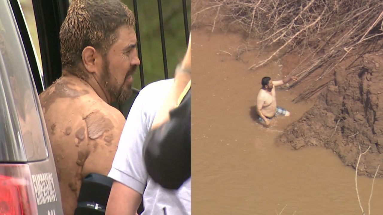 Driver arrested after jumping into brazos river during for Fred s fish fry
