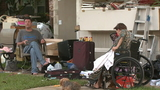 77-year-old lives in tent after being evicted from Cinco Ranch home