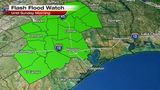 Flash Flood Watch in effect for SE Texas this weekend.