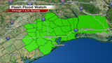 Severe storms and flash flooding danger beginning Friday night