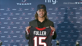 Texans introduce first round pick Will Fuller
