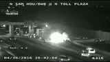 Large car fire slows traffic on Beltway 8