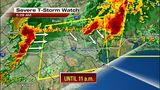 Storms, heavy rain Saturday morning keep flooding threat alive for…