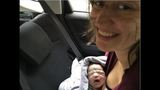 Woman has a question for Honda after giving birth in her car