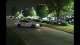Harris County deputy shoots at three men
