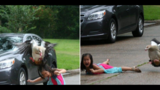 GOING VIRAL: Goose attacks Houston girl