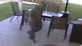 Thief breaks down door, robs homeowner at gunpoint