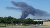 Firefighters battle huge warehouse fire in Spring Branch