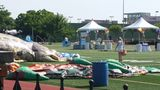 Several children injured in bounce house accident at school carnival