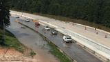I-45 southbound at Hardy Toll Road shutdown due to impassable water