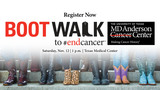 MD Anderson hosts Boot Walk to end cancer