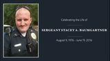 Community says goodbye to slain Patton Village police Sgt. Stacey Baumgartner