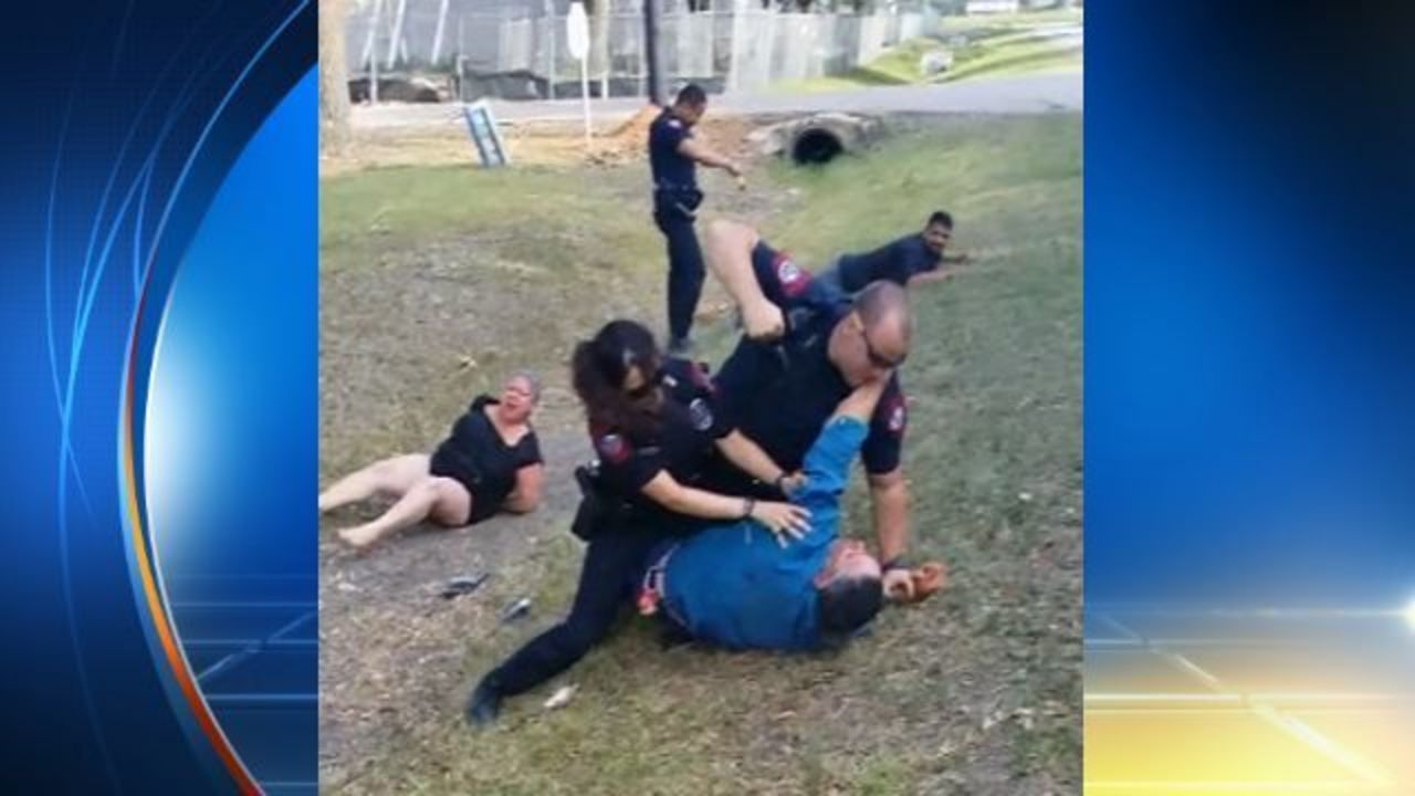 couple  rosenberg police used excessive force during arrest