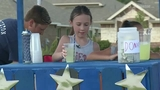 9-year-old girl sets up lemonade stand in Spring to help Dallas Police&hellip&#x3b;