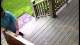 Woman caught on camera stealing package off porch