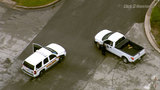 Lockdown at 2 Baytown schools lifted&#x3b; search for man continues