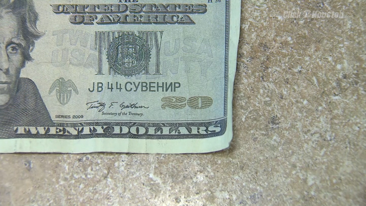 Counterfeit money frustrates Houston business owner