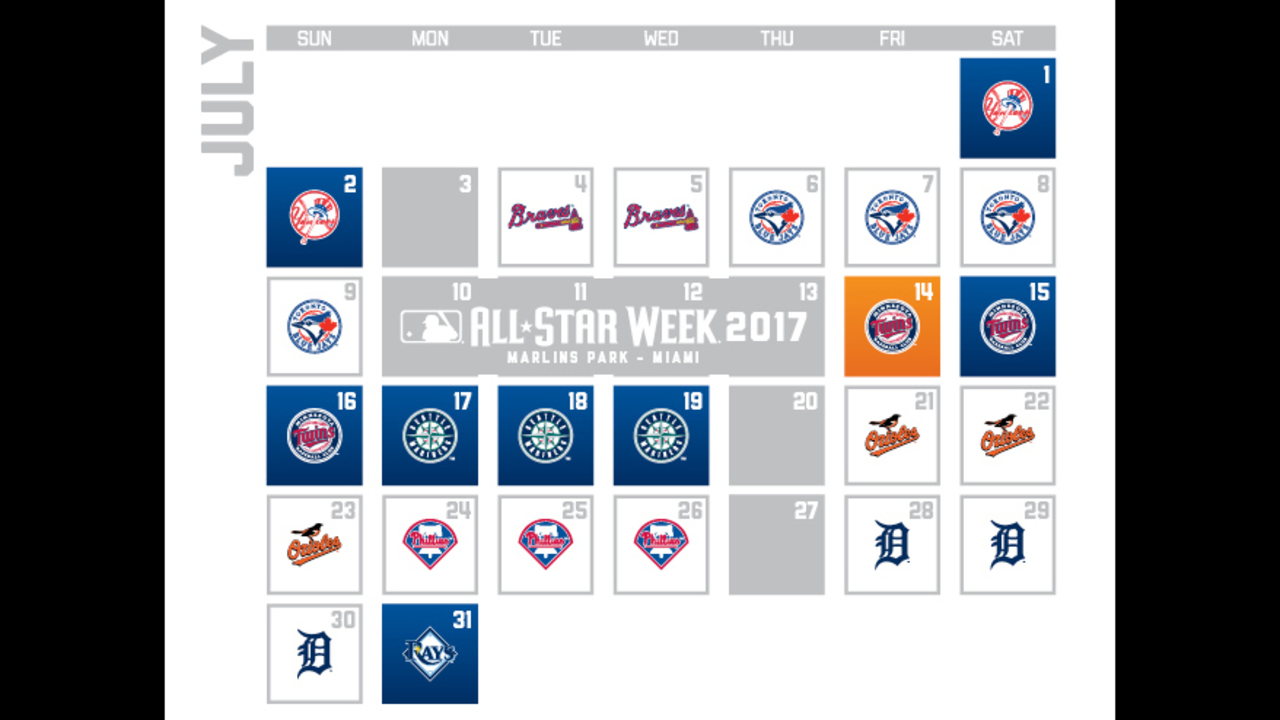 Houston Astros release 2017 season schedule