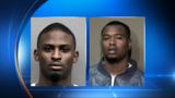 Pair accused in series of robberies arrested