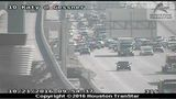 2 crashes close portions of Katy Freeway in both directions