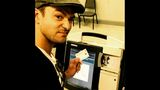 Did Justin Timberlake break a law while voting?